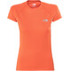The North Face Flex T-Shirt Women Nasturtium Orange